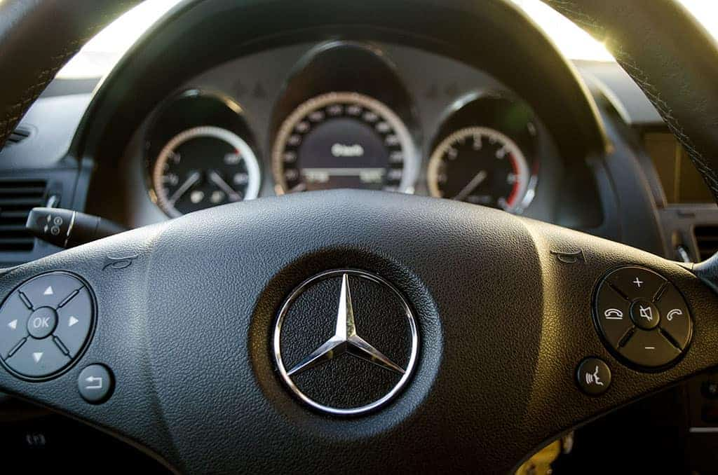 Mercedes Dashboard