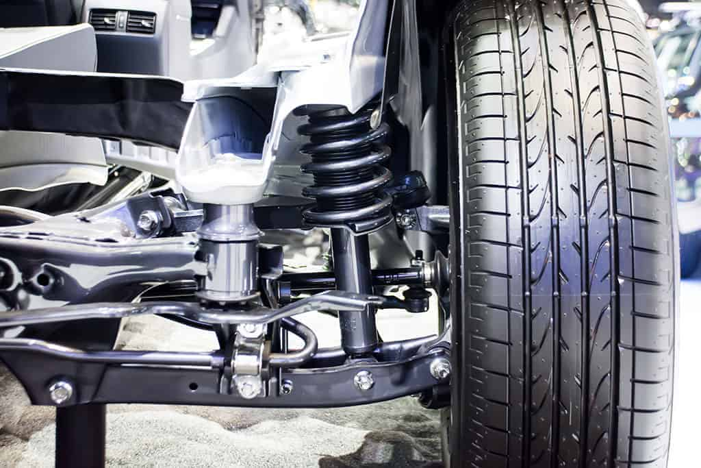 A Look at the Shock Absorber on a Lift