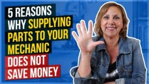 5 Reasons Why Supplying Parts to Your Mechanic Does Not Save Money