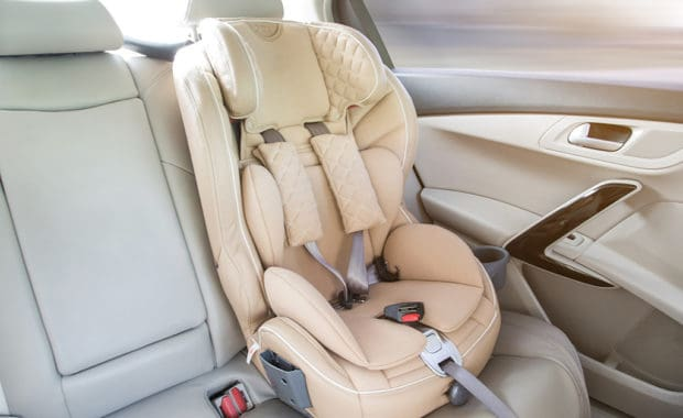 Car Seat in a Customer's Vehicle in Mays Landing