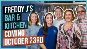 Freddy J's Bar & Kitchen Coming October 23rd