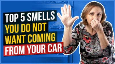 Top 5 Smells You Do Not Want Coming From Your Car