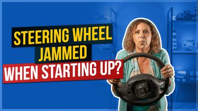 Steering Wheel Jammed Up When Starting