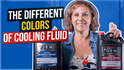 The Different Colors of Cooling Fluid