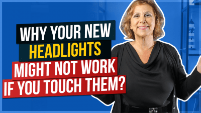 Why Your New Headlights Might Not Work If You Touch Them